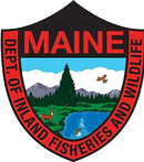 Maine Dept. of Inland Fisheres and Wildlife Logo